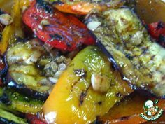 """Овощи-гриль под маринадом """"бальзамико"""" ингредиенты"""