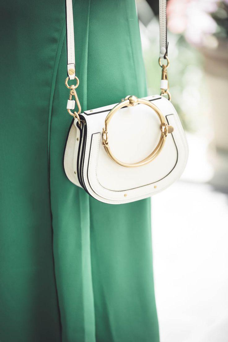 Reward Style Conference 2017, Chloe nile bracelet bag in white