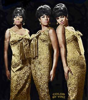 The Supremes - glam, style, poise and music = entertainment.  Most highly sought after girl band in 1960 and 70's.  #Motown #BarryGordy