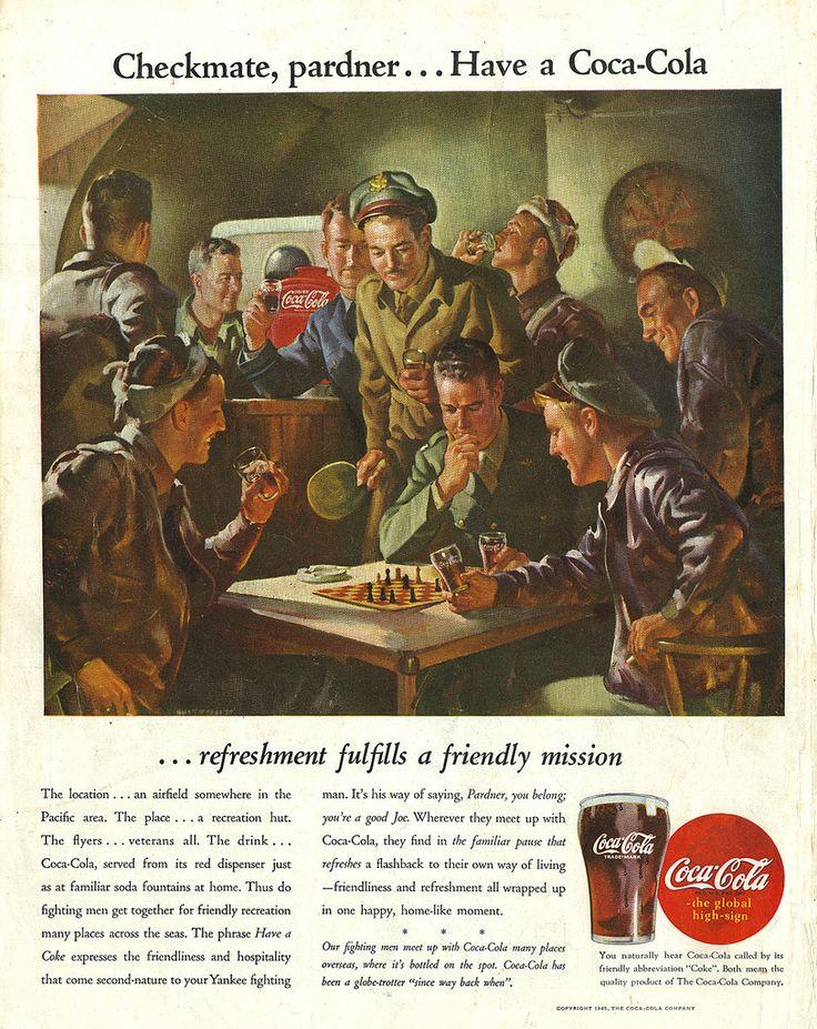Coca-Cola France recherche des objets datant de la seconde guerre mondiale pour une exposition