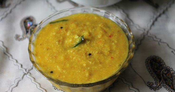 This is the dal which we make atleast thrice a week. I don't know how i missed it to post here. I have posted a basic southindian dal re...