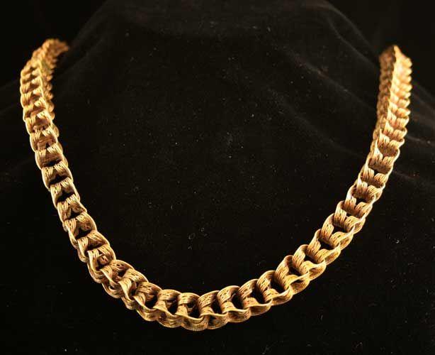 Roman Gold Necklace , ca 1st -3rd century A.D.