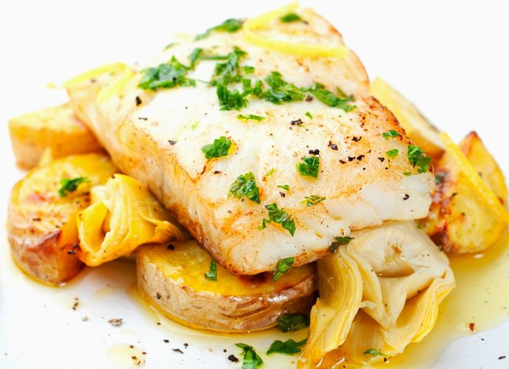 Cod fript în unt de usturoi | Retete culinare - Romanesti si din Bucataria internationala