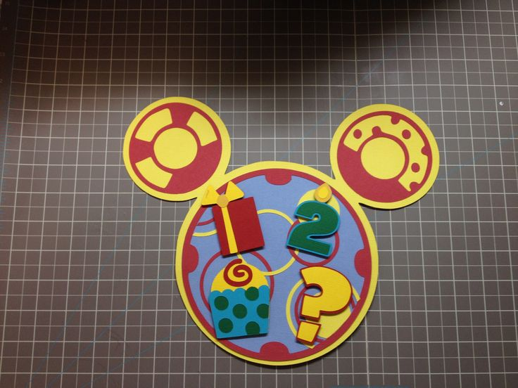 1000 Images About 3rd Birthday Mickey Mouse Theme On