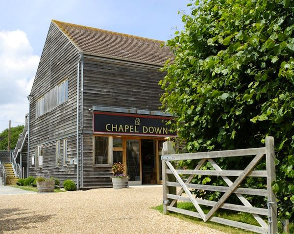 chapel down wines - the Flint Dry is a lovely wine to drink, light fruity very very drinkable!