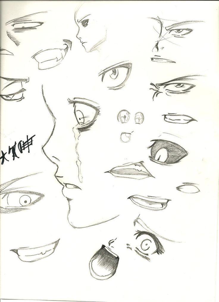 29+ Anime eye drawing practice inspirations