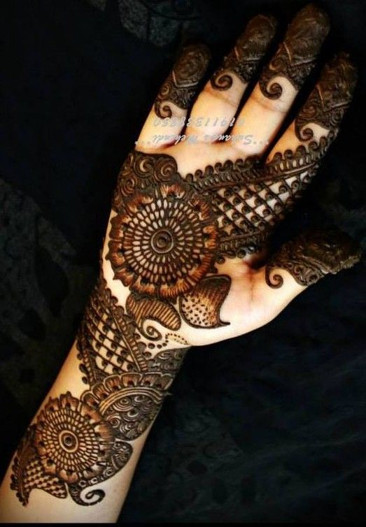 arabic mehndi designs for hands |
