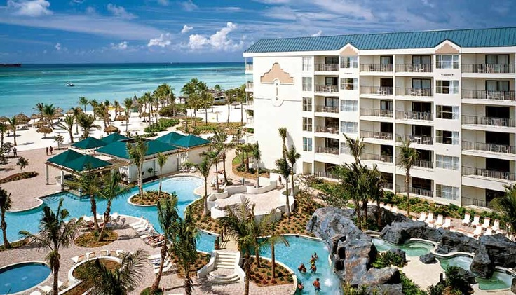 Marriott Ocean Club in Aruba. Our home away from home! LOVE <3