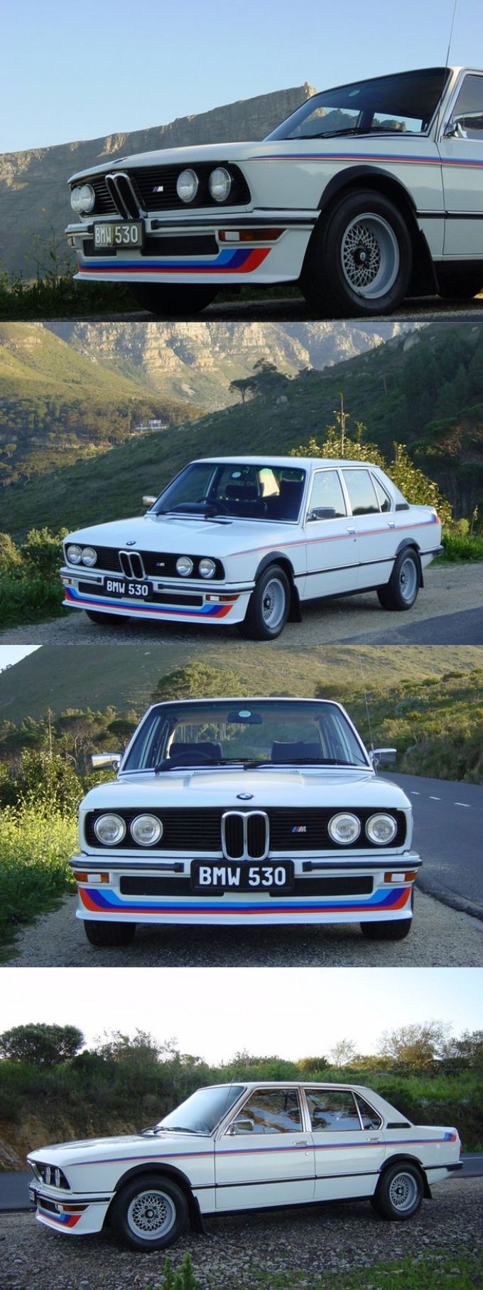 1976 bmw 530 mle e12 south african exclusive 208pcs motorsport white