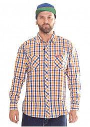 Koszula EL POLAKO granatowo-pomarańczowa