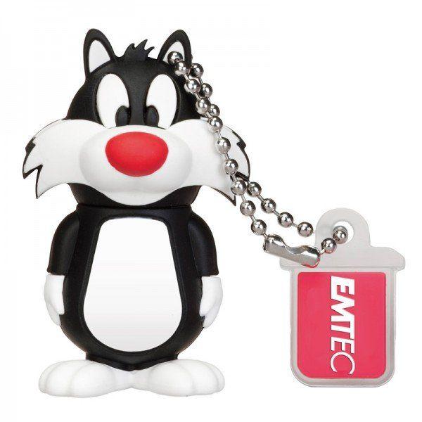 Emtec Looney Tunes USB 2.0 8GB Flash Drive Sylvester