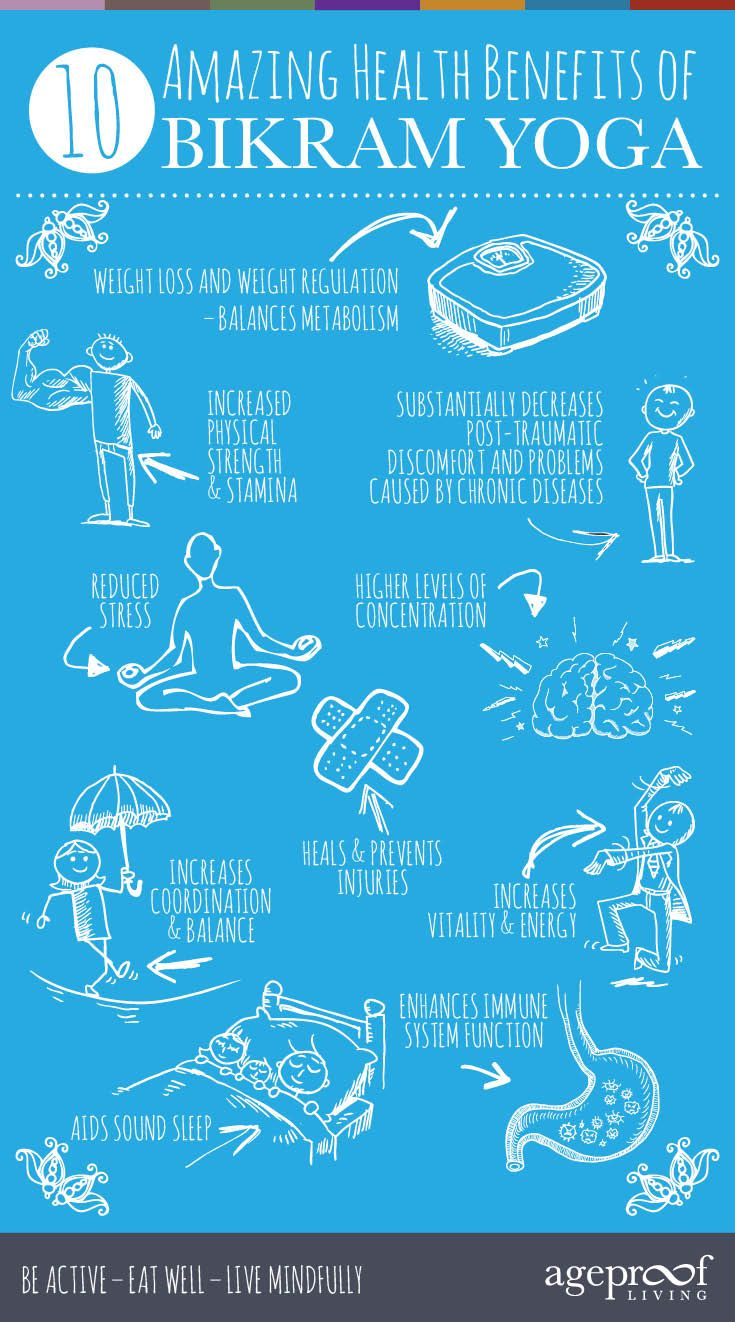 10 Amazing Health Benefits Of Bikram Yoga http://ageproofliving.com/health-benefits-of-bikram-yoga #Yoga #Holistic #Natural #Health #Fitness #FitFam