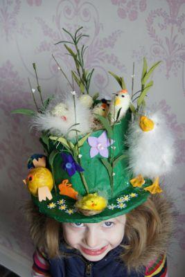 Juliana's Easter Bonnet - Easter Bonnets - Netmums