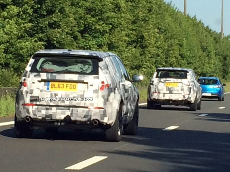 U Spy New Land Rover Discovery Sport in Two Different Countries - Carscoops