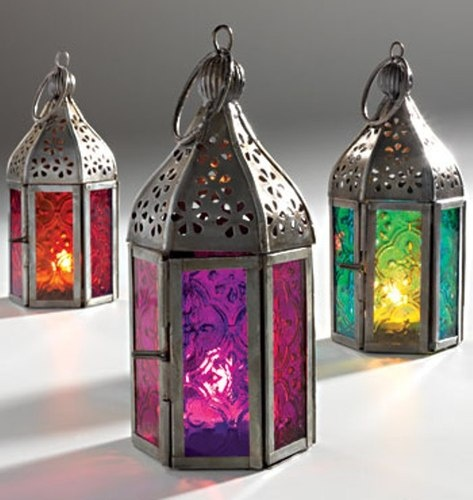Details about Moroccan Style Mini Lantern Tea light Candle ...