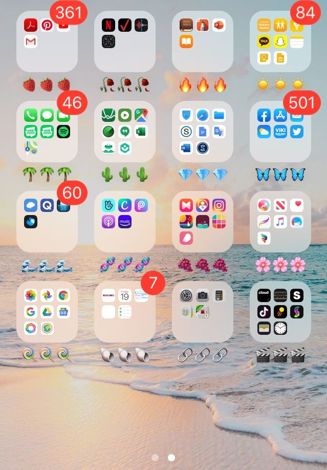Color Coded Apps Iphone Phone Apps Iphone Coding Apps Iphone Organization