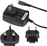 BlackBerry Travel Charger with Removable Clips for BlackBerry 9800