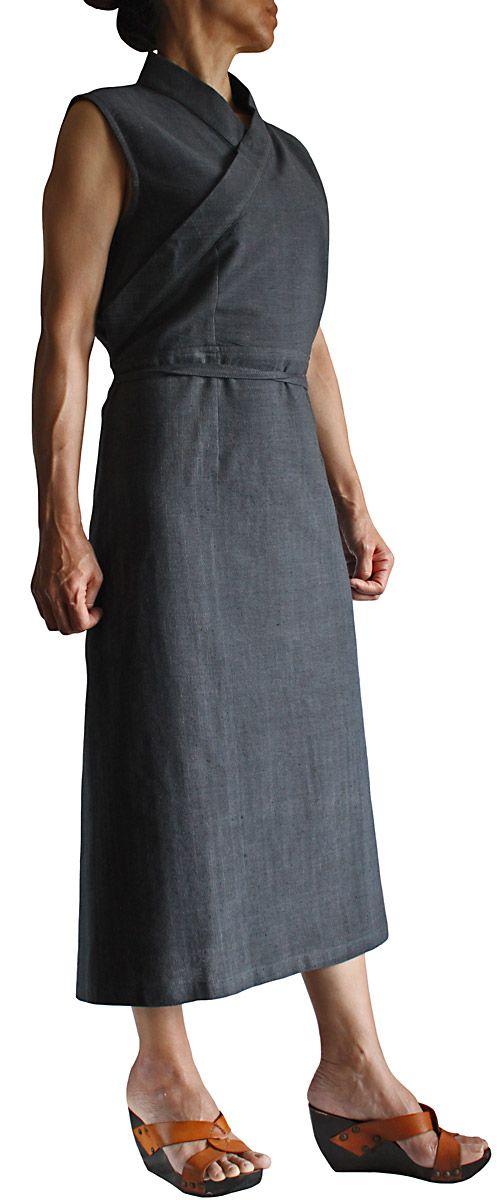 ジョムトン手織り綿チュバ風ドレス