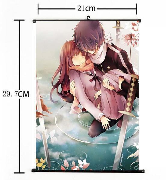 Details about Hot Japan Anime Noragami Yato Yukine Iki Hiyori Home Decor Poster Wall Scroll