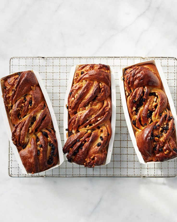 Walnut Babka | Martha Stewart Living - What do you get when you pair twisted dough with buttery walnuts, plump currants, and spicy cinnamon? A showstopping babka, that's what.