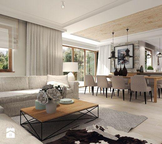 Wystrój wnętrz - Salon - styl Rustykalny. Projekty i aranżacje najlepszych designerów. Prawdziwe inspiracje dla każdego, dla kogo liczy się dobry gust i nieprzeciętne rozwiązania w nowoczesnym projektowaniu i dekorowaniu wnętrz. Obejrzyj zdjęcia!