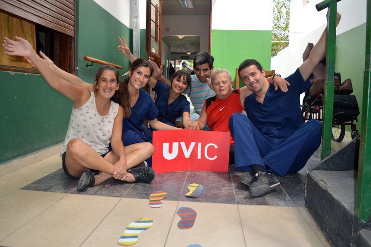 Vanessa Malé González, estudiant de Fisioteràpia, ha realitzat les pràctiques al Centro de Día Vida, La Plata, Buenos Aires. I ens diu: 'Això s'ha de viure, no es pot explicar amb paraules' #CampusInternacional #UVic #uviclife #LaUVicAlMón #argentina #fisioterapia