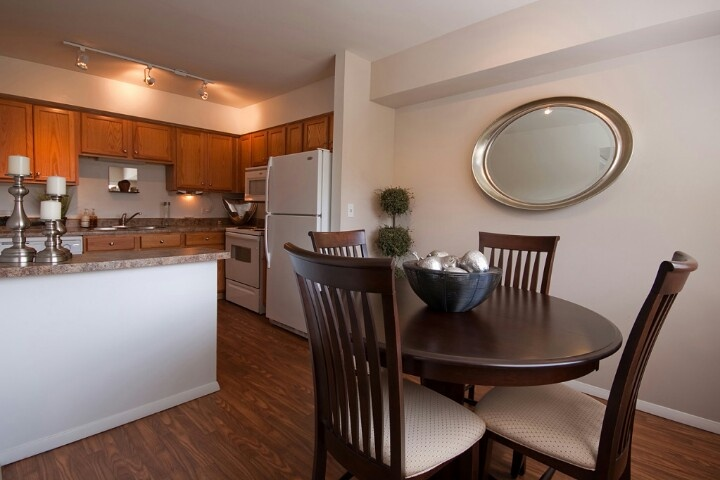 Two bedroom kitchen & dining room #veryclassy