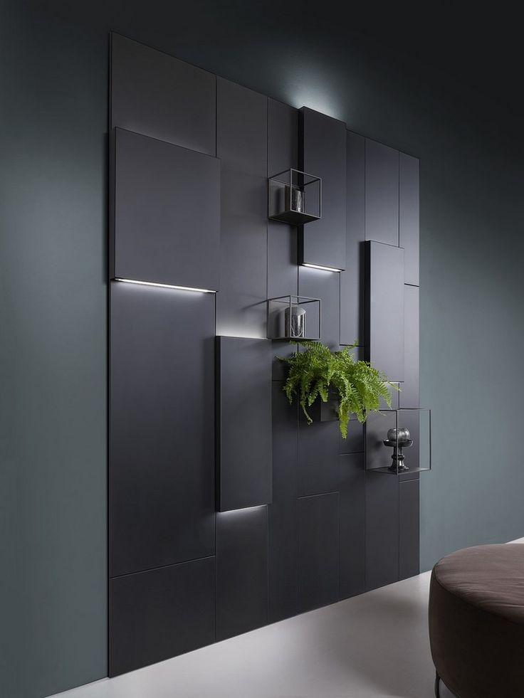 Modulares Wandregal aus Metall – Praktische Wandgestaltung für Wohnzimmer und Küche