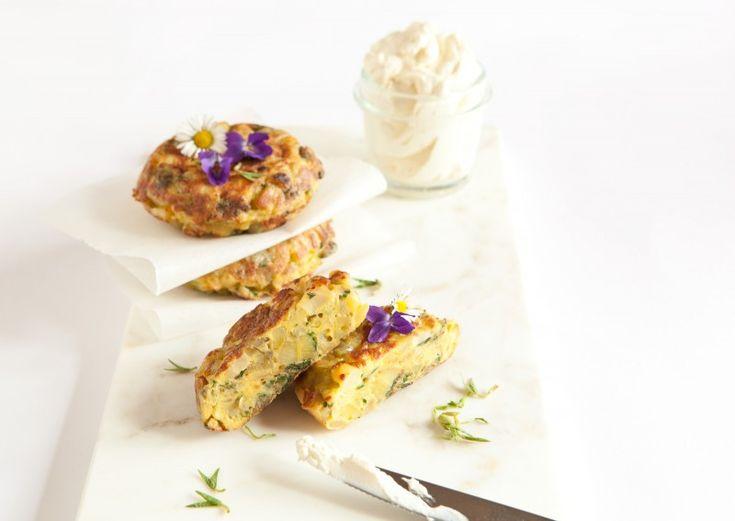 Bramborovo-petrželová španělská tortilla