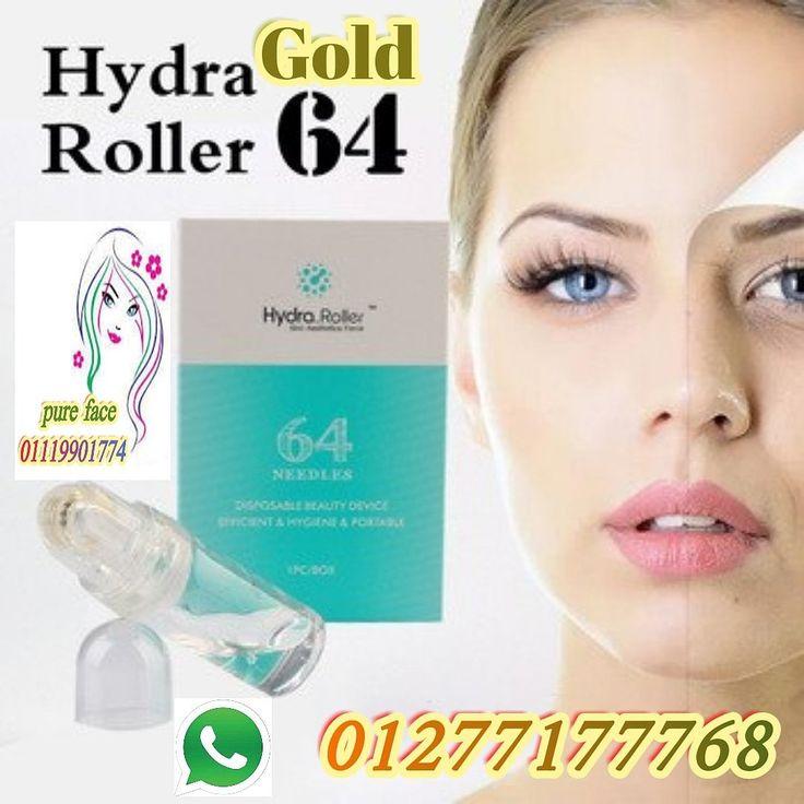 Hydra Gold Derma Roller Derma Pen Hydra