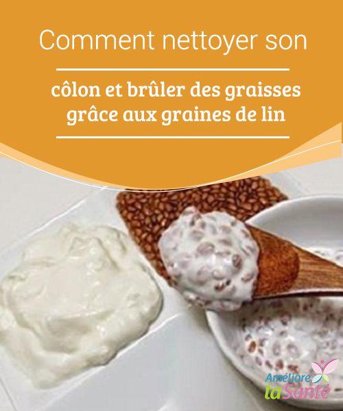 Comment #nettoyer son côlon et brûler des graisses grâce aux graines de lin   Les #graines de #lin, parfois également appelées linette, ont de nombreuses #propriétés connues pour notre #santé.