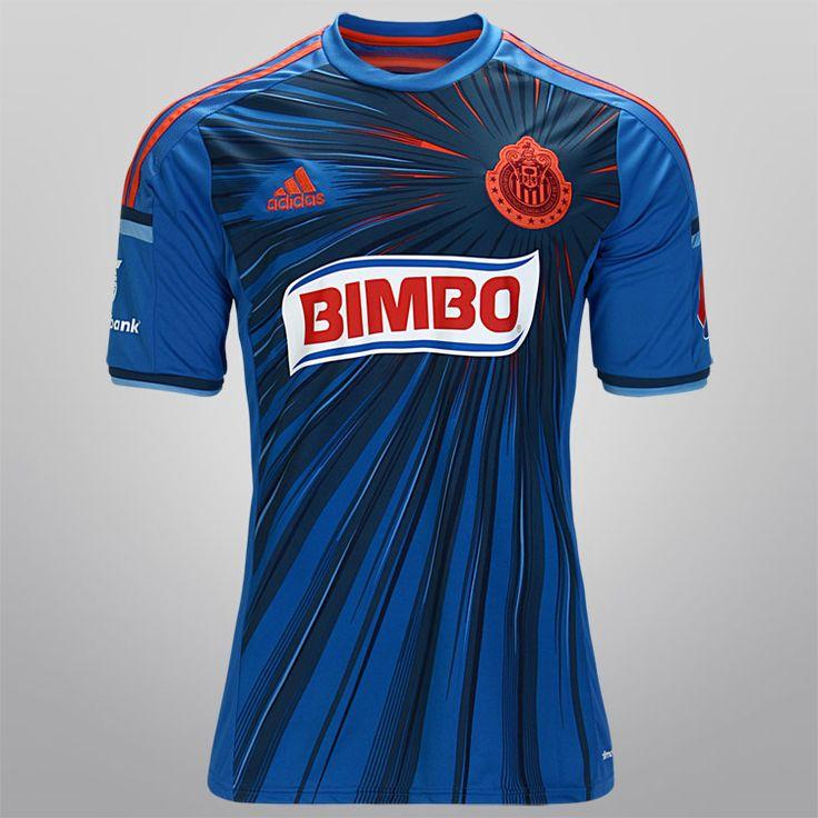 Chivas Guadalajara estreou sua terceira camisa para o restante da Liga MX 2014. Fabricada pela adidas, a peça traduz um dos mais famosos apelidos do clube, El Corazón de México, com cores e formas que emanam do brasão.