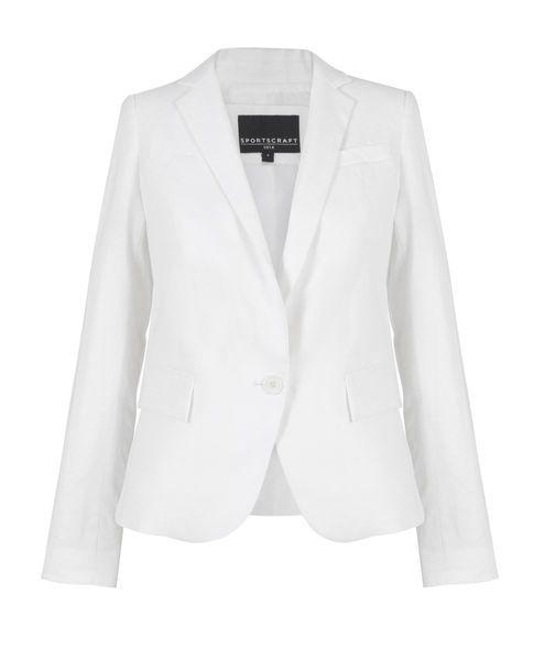 Elyssa Jacket, WHITE, hi-res