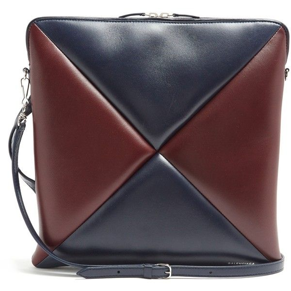 Balenciaga Cushion Square bag (43 065 UAH) ❤ liked on Polyvore featuring bags, handbags, burgundy multi, balenciaga handbags, burgundy handbags, burgundy bag, lambskin leather handbags and patchwork purse