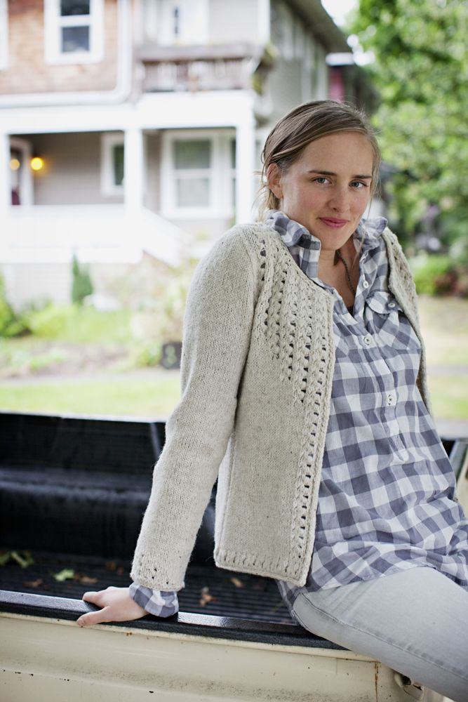 Sullivan cardigan from Brooklyn Tweed worsted weight