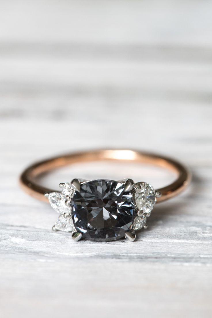 Grew and Co / Fine Jewellery / Engagement ring / Wedding Jewelry / Black Diamond / Wedding Style Inspiration / The LANE