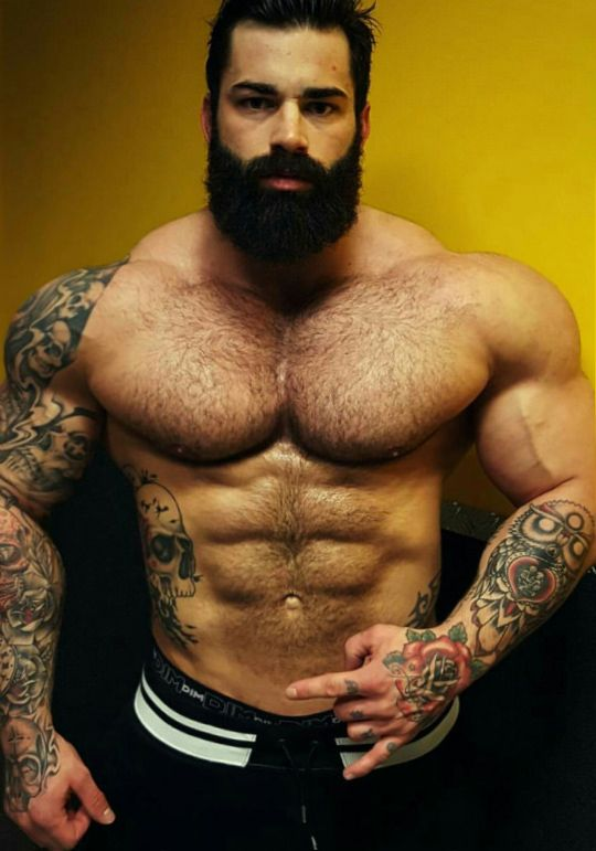 Male smut! Beefy, masculine, hairy, sexy men and whatever else I think is hot. Love NFSW