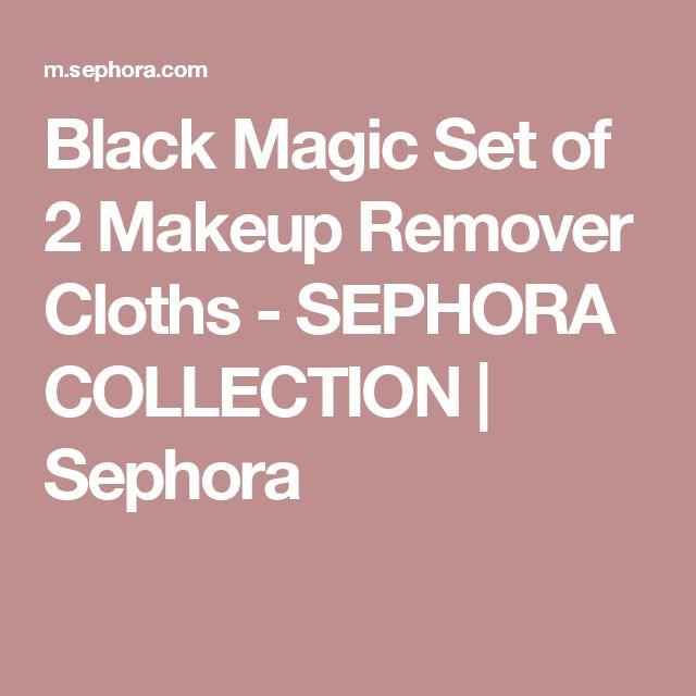Black Magic Set of 2 Makeup Remover Cloths - SEPHORA COLLECTION   Sephora