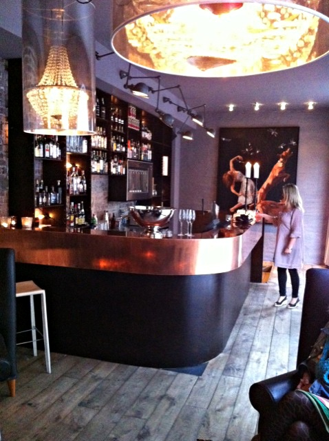 Hotel Brosundet.Ålesund Norway.  The bar..Allways very friendly people working there.