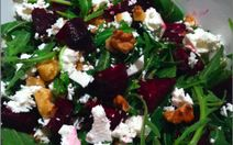 Rocket, Roasted Beetroot & Feta Salad ... a combination made in heaven ...