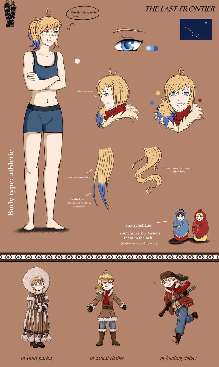 [APH] Alaska full reference by Kei2000 on DeviantArt