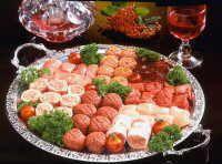 Gourmetten met verschillende soorten gehakt