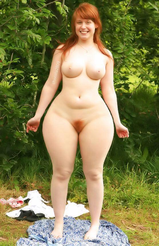 big tits wide hips redhead nude