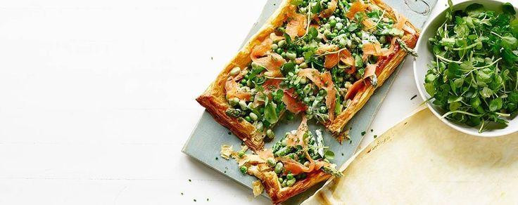 James Martin's Smoked Salmon Tart