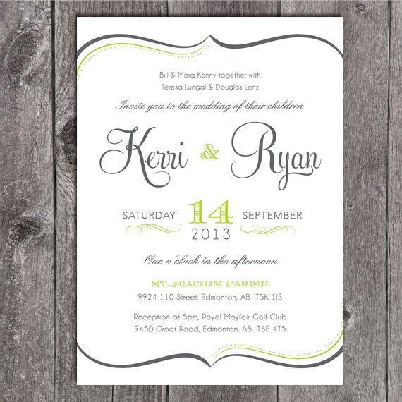 105 best wedding ideas images on pinterest wedding inspiration diy printable wedding invitation and printable rsvp card script type and swirl border solutioingenieria