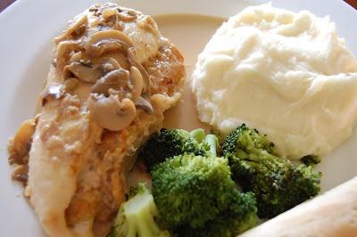 Cook! Create! Consume!: Olive Garden's Stuffed Chicken Marsala Copy Cat Recipe