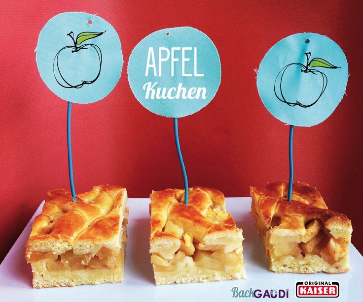 BackGaudi: Gedeckter Apfelkuchen powerd by Kaiser Backformen