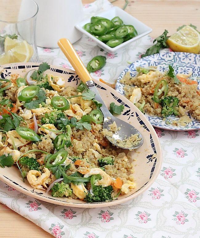 Délices d'Orient: Chou-fleur façon fried rice
