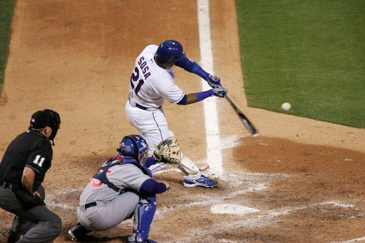 June 20,   2007: SAMMY SOSA HITS HIS 600TH HOME RUN  -   Sammy Sosa, playing for the Texas Rangers after a year out of baseball, hits his 600th home run, making him the fifth player to reach the milestone; the round-tripper came in the fifth inning of Texas' 7-3 victory over Sosa's former team, the Chicago Cubs.