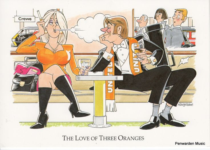 Joan Butler Classics Greeting Card - The Love of Three Oranges